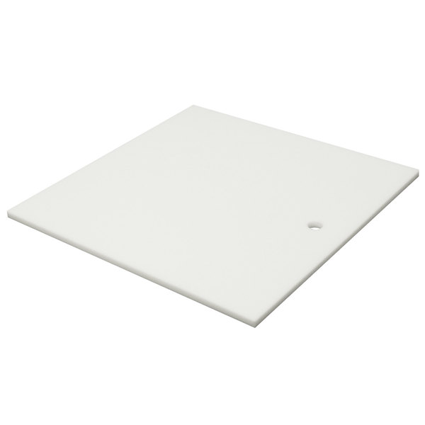 """Advance Tabco K-2D Poly-Vance Cutting Board Sink Cover for 18"""" x 24"""" Compartments - 5/8"""" Thick"""