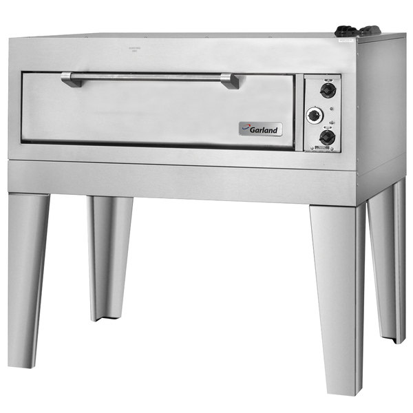 "Garland E2111 55 1/2"" Triple Deck Electric Pizza Oven - 240V, 3 Phase, 18.6 kW"