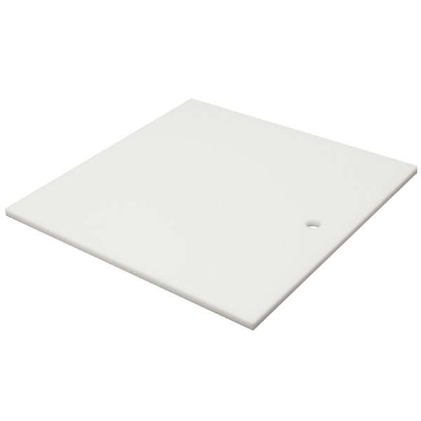 """Advance Tabco K-2H Poly-Vance Cutting Board Sink Cover for 14"""" x 14"""" Compartments - 5/8"""" Thick"""