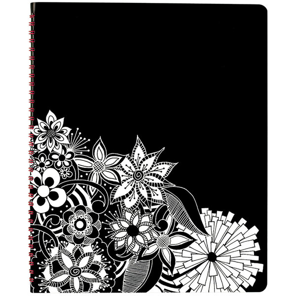 """At-A-Glance 589905 Floradoodle 9 3/8"""" x 11 3/8"""" Professional January 2020 - January 2021 Weekly / Monthly Appointment Book"""