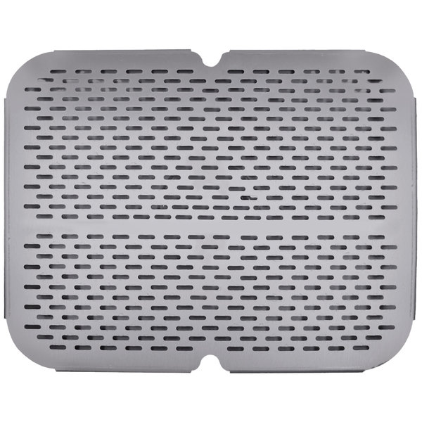 "Advance Tabco K-610A 10"" x 14"" Strainer Plate Main Image 1"