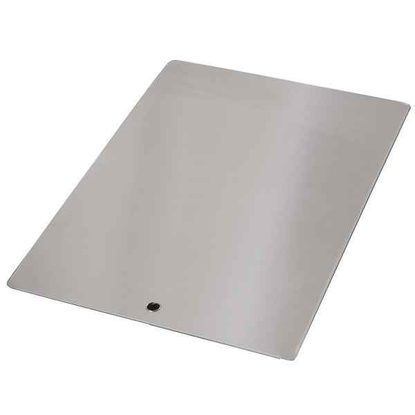 """Advance Tabco K-455G Stainless Steel Sink Cover for 20"""" x 28"""" Compartments Main Image 1"""