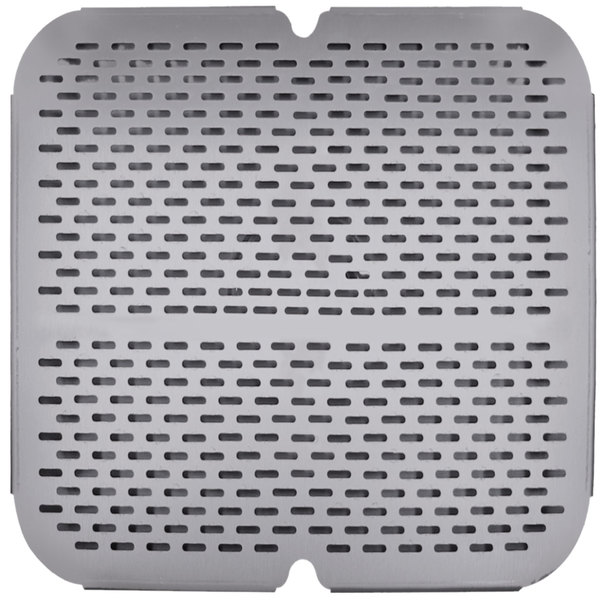 """Advance Tabco K-610NF 18"""" x 18"""" Strainer Plate"""