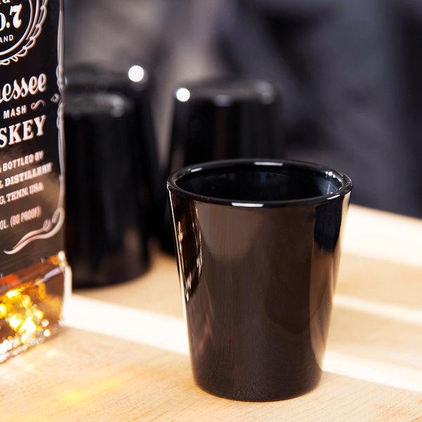 Libbey 5120E 1.5 oz. Black Whiskey / Shot Glass - 72/Case Main Image 5