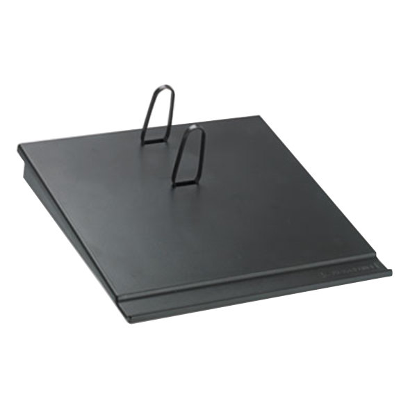 "At-A-Glance E1700 3 1/2"" x 6"" Black Desk Calendar Base"