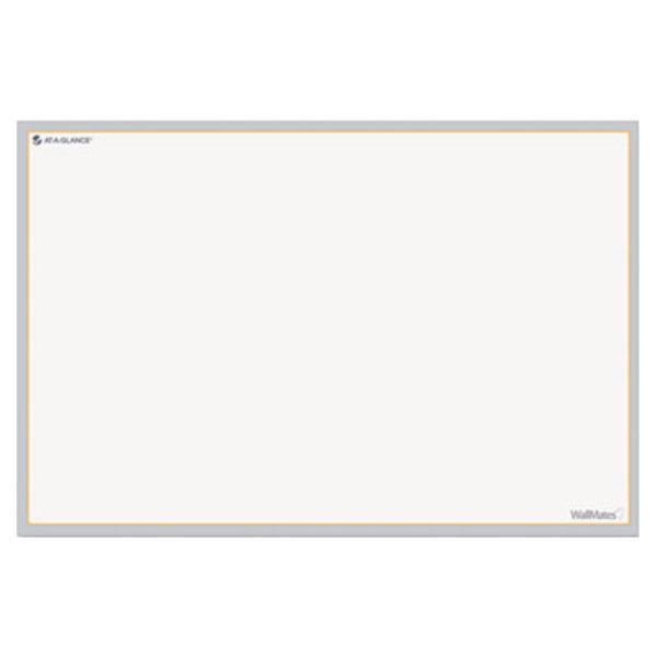 """At-A-Glance AW601028 WallMates 24"""" x 36"""" Self-Adhesive Dry Erase Writing Surface Main Image 1"""