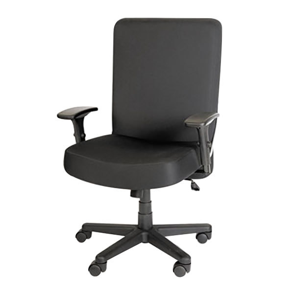 Elegant Alera Plus AAPCP110 XL Series Black High Back Big U0026 Tall Fabric Office Chair  With Adjustable ...