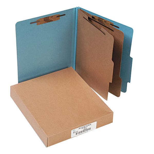 Acco 15026 Letter Size Classification Folder - 10/Box Main Image 1