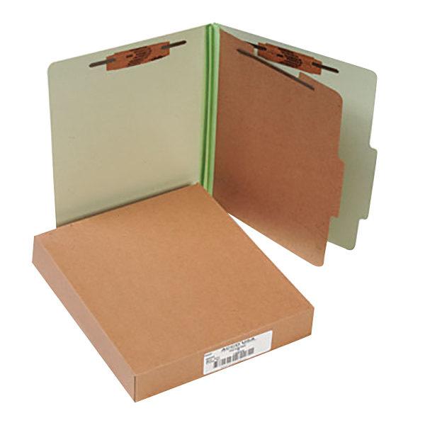 Acco 15044 Letter Size Classification Folder - 10/Box Main Image 1