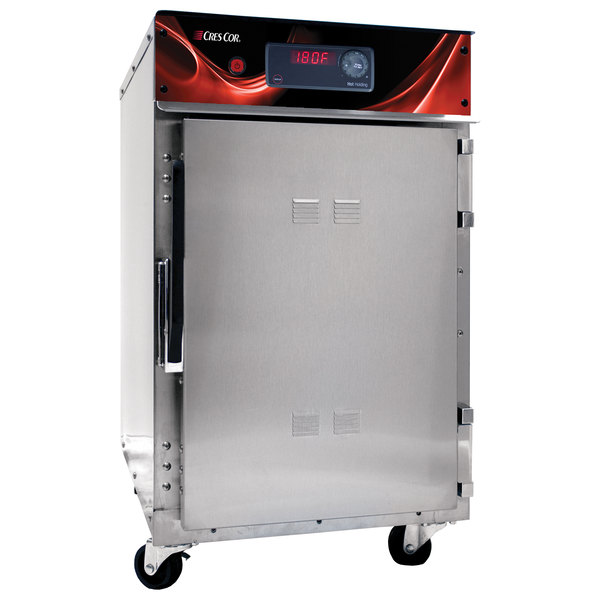 Cres Cor 500-HH-SS-DX Radiant Insulated Undercounter Holding Cabinet with Deluxe Controls - 120V, 900W Main Image 1