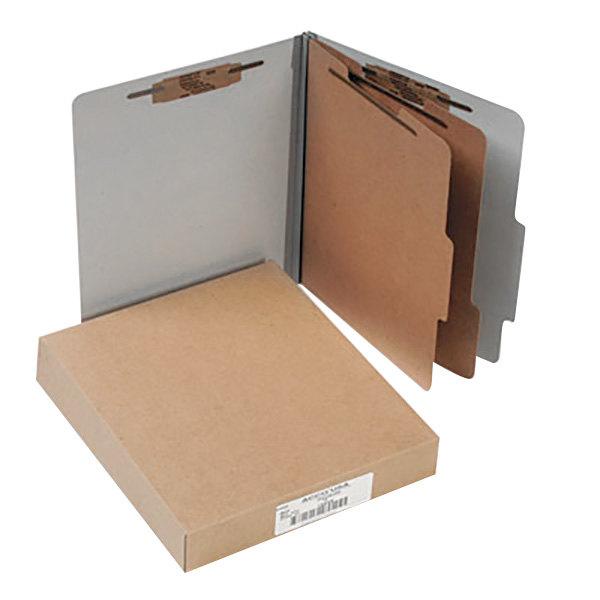 Acco 15056 Letter Size Classification Folder - 10/Box Main Image 1