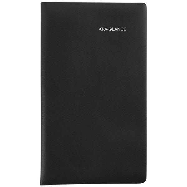 """At-A-Glance SK5300 DayMinder 3 5/8"""" x 6 1/16"""" Black December 2019 - January 2021 Pocket-Size Monthly Planner"""