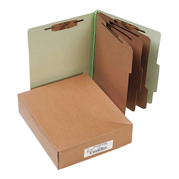 Acco 15048 Letter Size Classification Folder - 10/Box