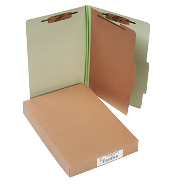 Acco 16044 Legal Size Classification Folder - 10/Box Main Image 1