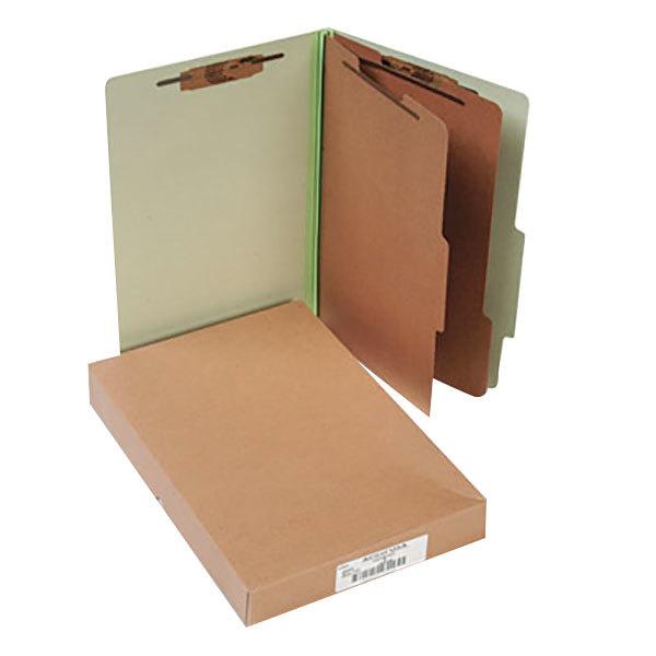 Acco 16046 Legal Size Classification Folder - 10/Box Main Image 1