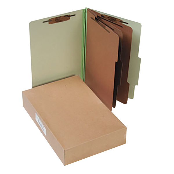 Acco 16048 Legal Size Classification Folder - 10/Box
