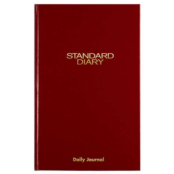 "At-A-Glance SD37713 7 11/16"" x 12 1/8"" Red 2020 Daily Journal"