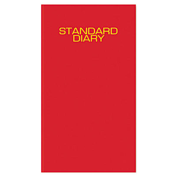 """At-A-Glance SD37613 7 11/16"""" x 12 1/8"""" Red 2020 Daily Business Diary"""
