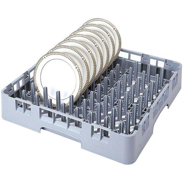 Cambro PR314L40151 Soft Gray 9 x 9 Camrack Peg Rack Standard