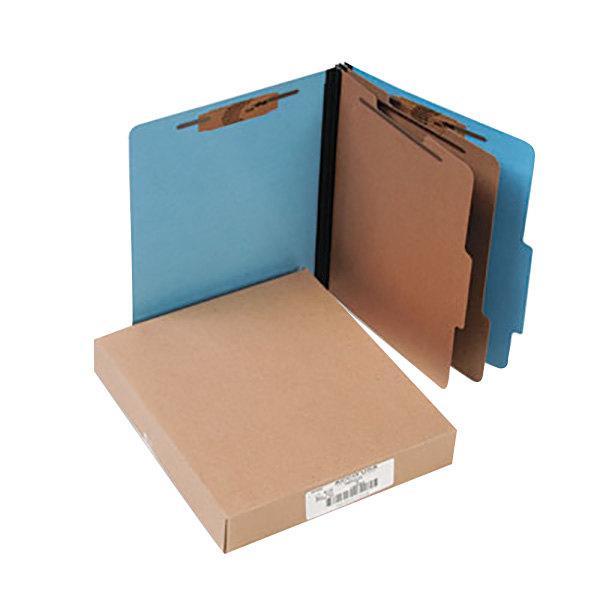 Acco 15662 Letter Size Classification Folder - 10/Box Main Image 1