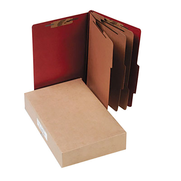 Acco 16038 Legal Size Classification Folder - 10/Box