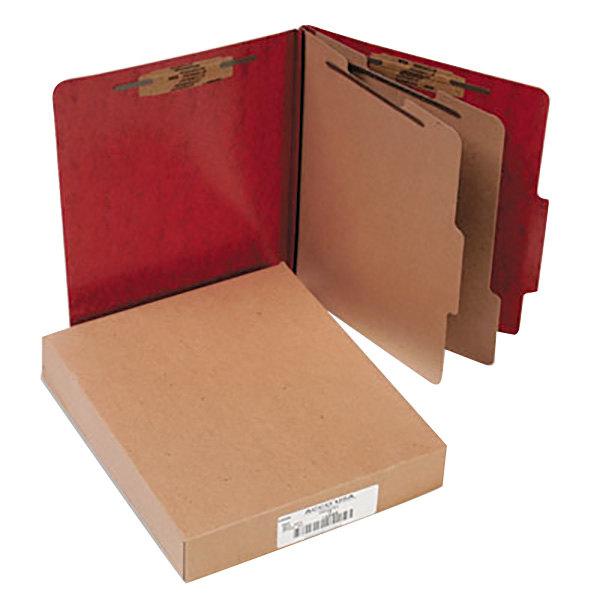 Acco 15006 Letter Size Classification Folder - 10/Box Main Image 1