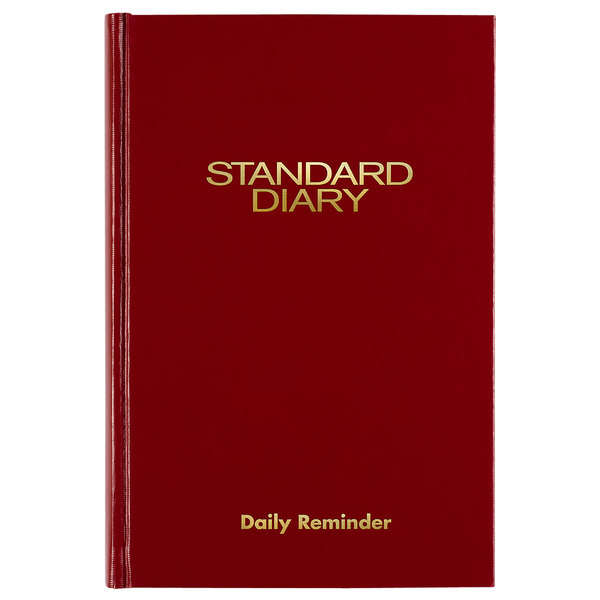 """At-A-Glance SD38713 5"""" x 7 1/2"""" Red 2020 Daily Reminder Diary"""