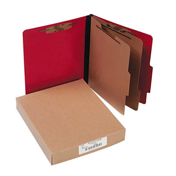 Acco 15669 Letter Size Classification Folder - 10/Box Main Image 1