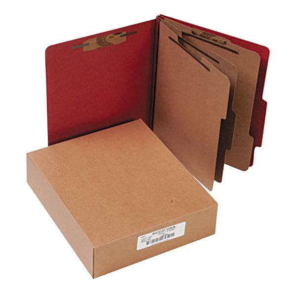 Acco 15038 Letter Size Classification Folder - 10/Box Main Image 1