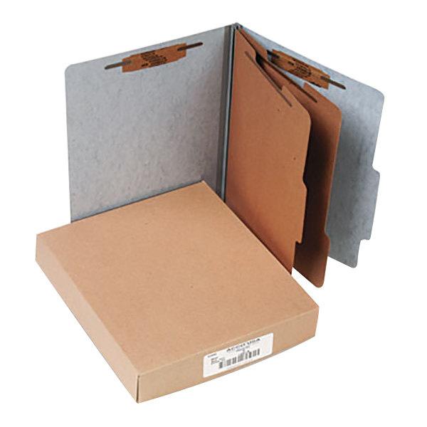 Acco 15016 Letter Size Classification Folder - 10/Box Main Image 1