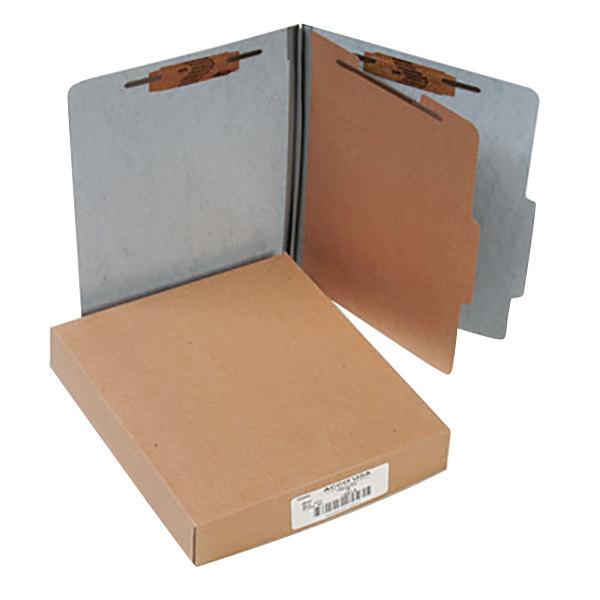 Acco 15014 Letter Size Classification Folder - 10/Box Main Image 1