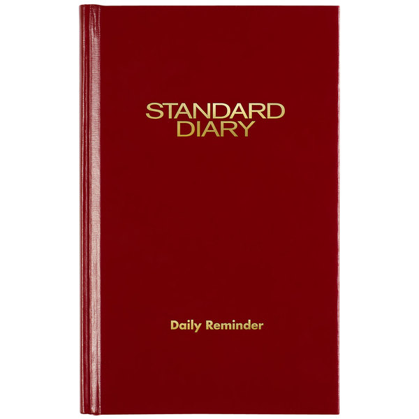 "At-A-Glance SD38513 4"" x 6 5/8"" Red 2021 Daily Reminder Diary Main Image 1"