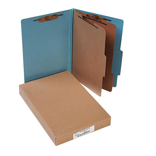 Acco 16026 Legal Size Classification Folder - 10/Box Main Image 1