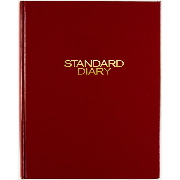 """At-A-Glance SD37413 7 1/2"""" x 9 7/16"""" Red 2021 Daily Reminder Diary Main Image 1"""