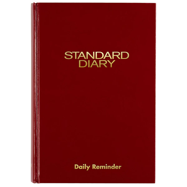 """At-A-Glance SD38913 5 5/8"""" x 8 3/8"""" Red 2020 Daily Reminder Diary"""