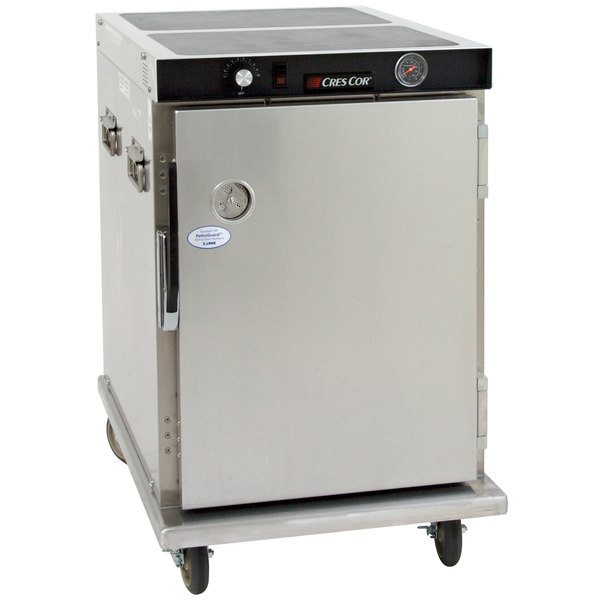 Cres Cor H-339-1813C Insulated Aluminum Half Height Holding Cabinet - 120V, 900W Main Image 1