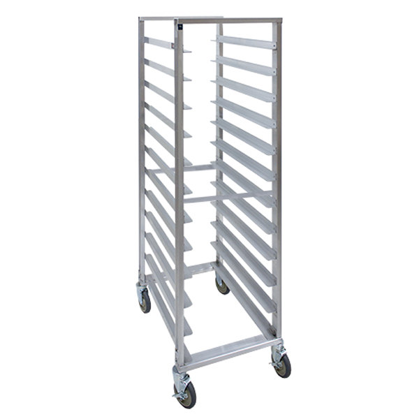 Cres Cor 207-1812-SD 12 Pan End Load Super Duty Aluminum Bun / Sheet Pan Rack - Assembled