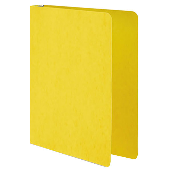 """Wilson Jones 38610 Yellow Non-View Binder with 1"""" Round Rings Main Image 1"""