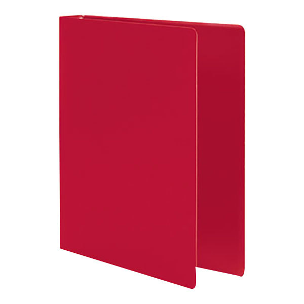 """Acco 39719 Accohide Executive Red Non-View Binder with 1"""" Round Rings"""
