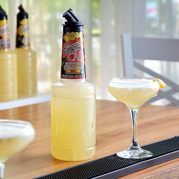 Finest Call 1 Liter Premium Citrus Sour Mix Main Image 2