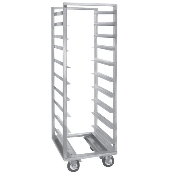 Cres Cor 207-1811-C 11 Pan End Load Roll-In Refrigerator Rack - Assembled Main Image 1