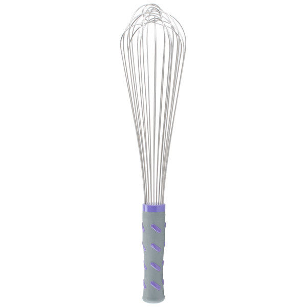"Vollrath 47004 Jacob's Pride 14"" Piano Whip/Whisk with Nylon Handle"