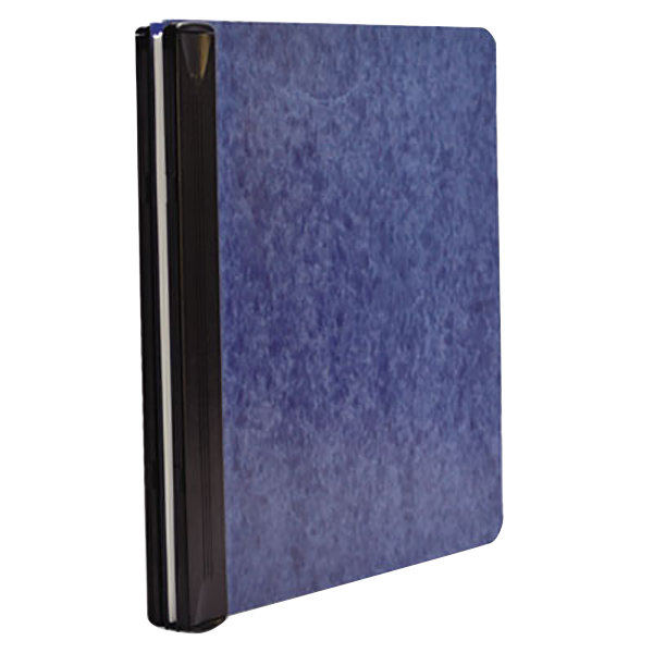 """Acco 55260 Letter Size Side Bound Hanging Data Post Binder - 6"""" Capacity with 2 Fasteners, Blue Main Image 1"""