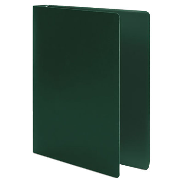 """Acco 39716 Accohide Dark Green Non-View Binder with 1"""" Round Rings"""