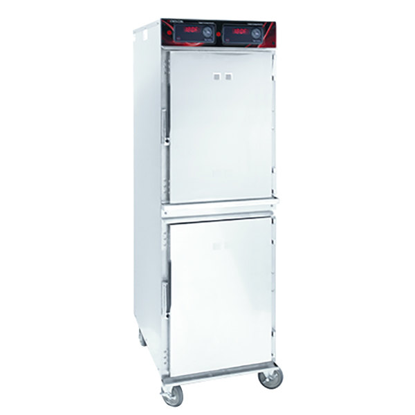 Cres Cor 1000-HH-SS-2DX Insulated Full Height Holding Cabinet with Deluxe Controls - 120V, 1800W