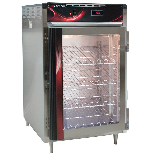 Cres Cor H-138-NS-CC1MC5Q Insulated Half Height Stainless Steel Holding Cabinet - 120V, 1400W Main Image 1