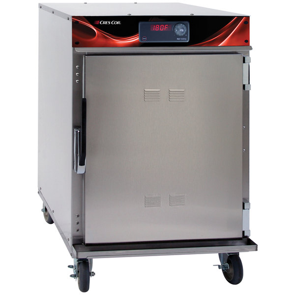 Cres Cor 750-HH-SS-DX Radiant Insulated Undercounter Holding Cabinet with Deluxe Controls - 120V, 900W Main Image 1