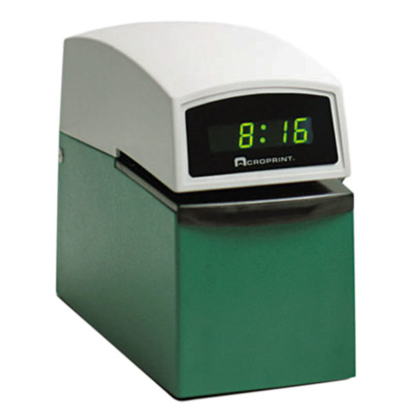 Acroprint 016000001 Model ETC Digital Automatic Time and Date Stamp Main Image 1