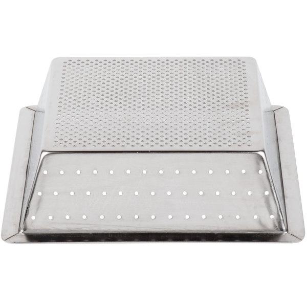 Perforated Stainless Steel 8 Tall 2 Commercial Floor Drain Strainer