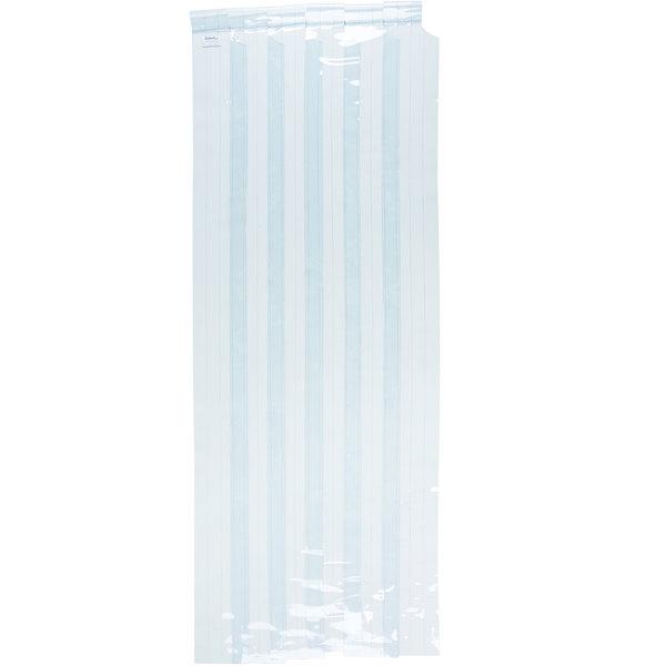 """Curtron M108-PR-4096 40"""" x 96"""" Polar Reinforced Step-In Refrigerator / Freezer Strip Door"""
